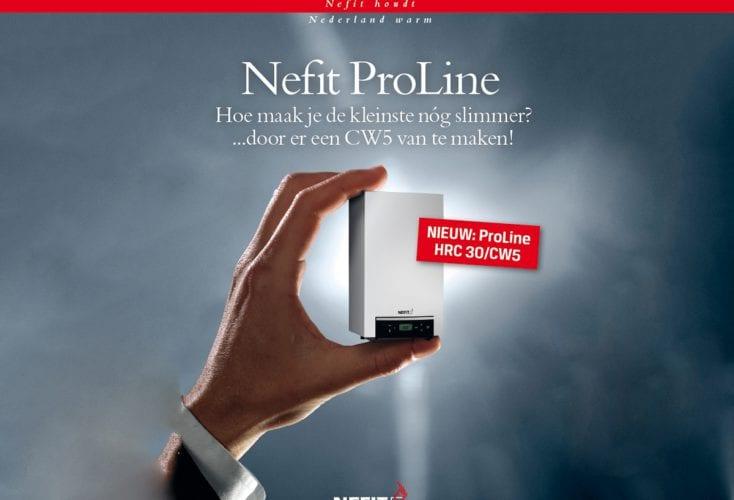 Nieuwe Nefit Proline, klein, slim en extra zuining!