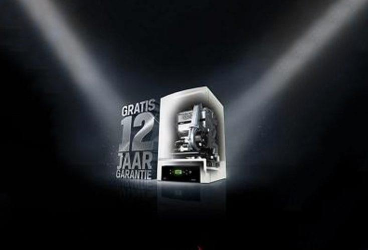 12 jaar gratis garantie op uw nieuwe Nefit HR-ketel!
