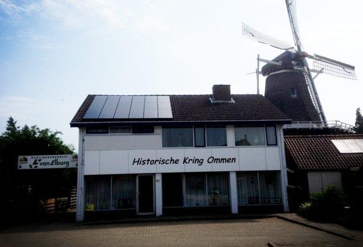 Subsidie zonnepanelen voor Ommer ondernemers
