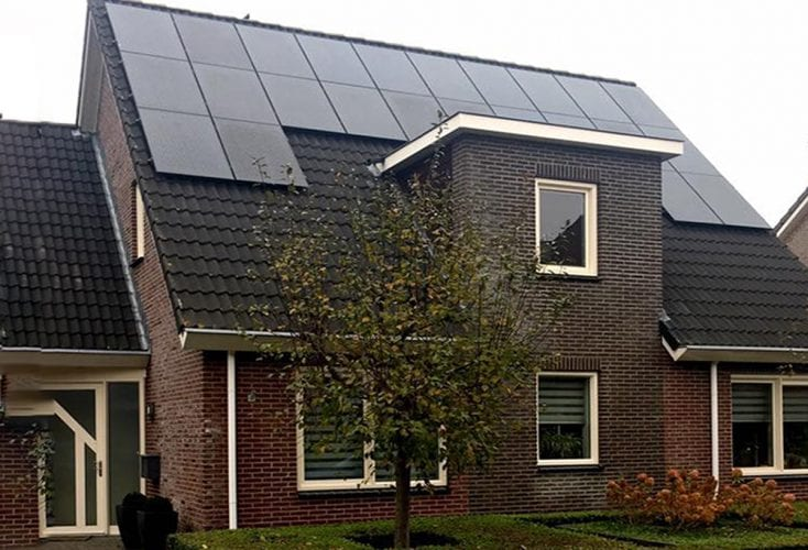 SolarEdge in Ommen