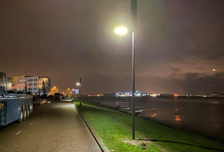 Zonnelichtmast, duurzame verlichting zonder stroomaansluiting
